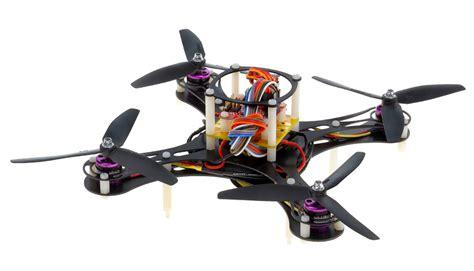 mini fly quadcopter drone arf  mwc board brushless motor  esc black rc remote control radio