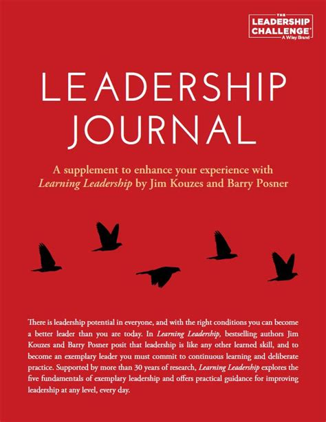 leadership definition journal article daybook involving