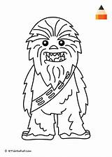 Chewbacca Coloring Pages Drawing Draw Face Sheets Wars Star Baby Colouring Letsdrawkids Let Getdrawings Sketch Visit Zapisano Template sketch template