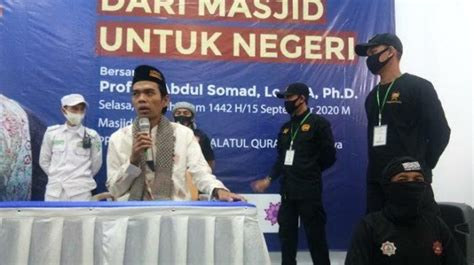 Mengikuti aktivitas tuan guru ustadz h. Pasca Penusukan Syekh Ali Jaber, Ustadz Abdul Somad ...
