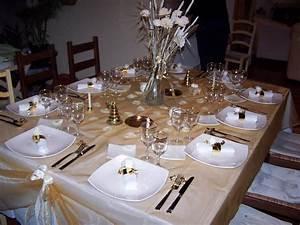 Table De Noel Blanche : maminou s cuisine et d coration d co ~ Carolinahurricanesstore.com Idées de Décoration