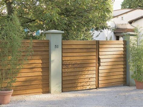 17 best images about portails on modern fence dahlias and horizontal fence