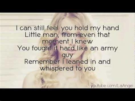 Taylor Swift   Ronan (Lyrics On Screen)   YouTube