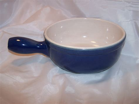 Cooking Pot, Cobalt Blue Microwave Stoneware, CCF, France