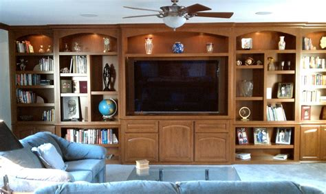 custom wall units  entertainment centers   design