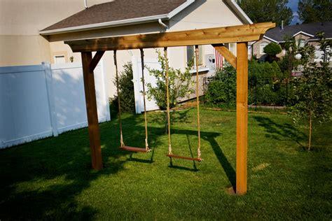 swing set plans pergola swing set plans furnitureplansfurnitureplans