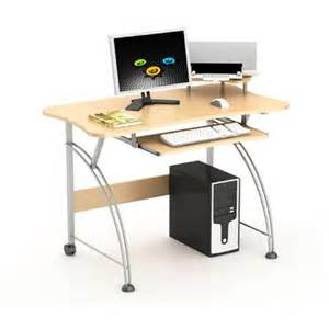 merax laptop computer desk with compact design in maple