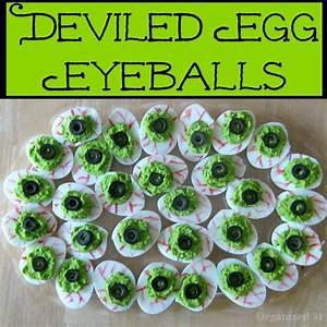 Deviled Egg Eyeballs Recipe Devil Egg And Zombie Party