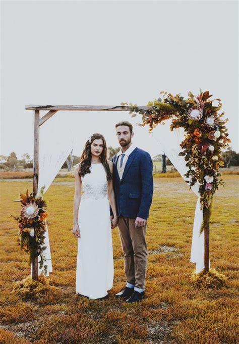 floral arbour wedding decorations native australian blooms