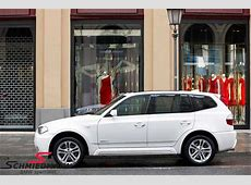 BMW X3 E83 Equipmentstyling outside Schmiedmann