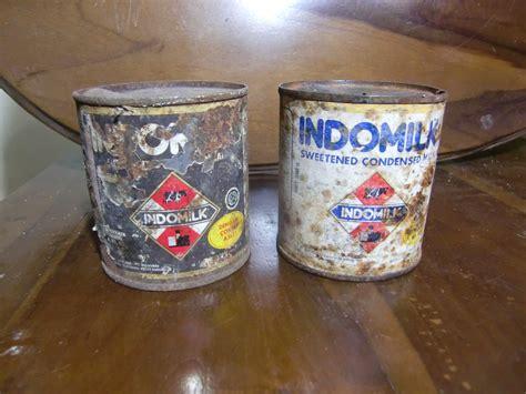 Bahan kaleng aluminium, ukuran p = 9,5 cm, l = 6,5 cm. CILEGON ANTIK: Kaleng Vintage Susu Indomilk Jadul era ...