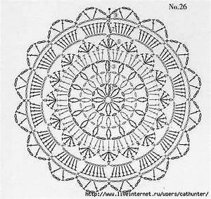 Black Lace Circle Motif Crochet Dress ⋆ Crochet Kingdom