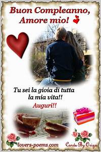 Messaggi Frasi Poesie D39amore Buon Compleanno Amore Mio