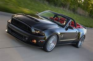 2014 Ford Mustang Widebody G.T. 500 Convertible - Ice Cool Photo & Image Gallery