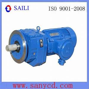 China Inline Helical Gear Reducer  Rf Type