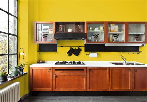 Pareti Cucina Gialle i migliori colori delle pareti per una cucina classica