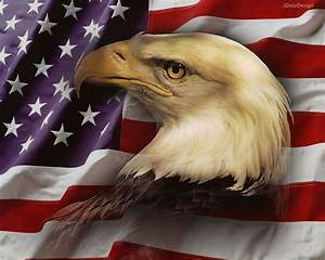 American Flag Background with Eagle | wallpaper, wallpaper ...