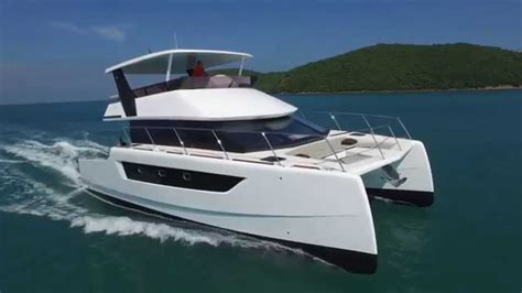 Catamaran Youtube by Heliotrope 48 Catamaran Yacht Youtube
