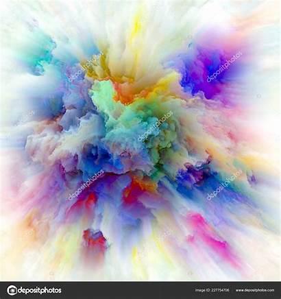 Artistic Explosion Emotion Creativity Projects Depositphotos Imagination