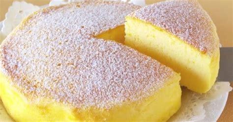 sos recette souffle cheesecake japonais avec seulement