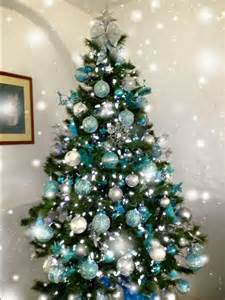 25 best ideas about teal tree on teal flocked trees