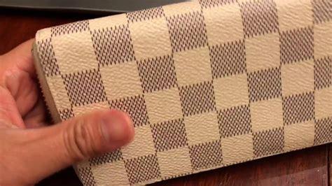 spot authentic louis vuitton clemence damier azur wallet    find  date code
