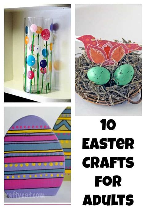 crafts for adults images beautiful easter crafts for adults ourfamilyworld