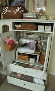 Sewing and Craft Storage Cabinets