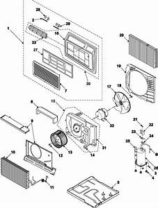 Samsung Aw109cb Room Air Conditioner Parts