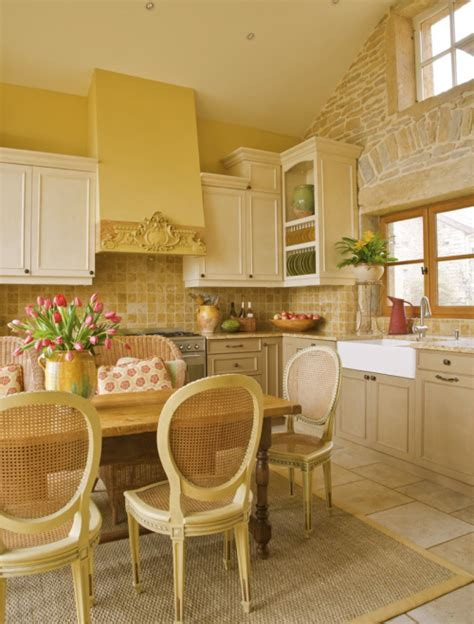 The French Country Kitchen, American Style Southern