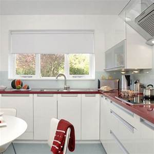 red and white kitchen kitchen design decorating ideas With kitchen design red and white