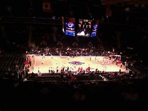Square Garden Basketball Seating Chart Square Garden Section 210 Row 12 Home Of New