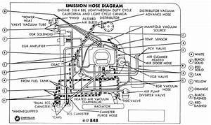 Dodge 318 Engine Vacuum Diagram