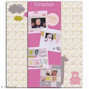 Album Photo Fille : kit avec album acheter kit album scrap au meilleur prix ~ Teatrodelosmanantiales.com Idées de Décoration