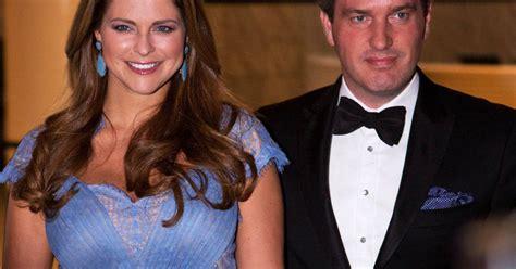 Princesse Madeleine, enceinte : Plantureuse au bras de ...