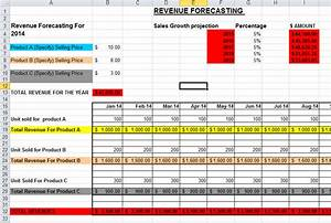 sales forecast template in excel With sales projection template free download