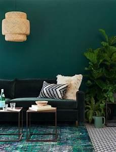 Wohnen In Grün : wohnen in gr n wohnungseinrichtung mit gr ner wand sweet home green gr n green ~ Markanthonyermac.com Haus und Dekorationen