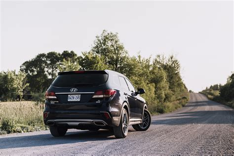 Ultimate grade models can be had with the tech package, which adds hyundai's smart sense active safety suite, hid headlights, and an electronic. Review: 2017 Hyundai Santa Fe XL   Canadian Auto Review