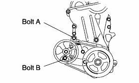 Service manual [2011 Scion Xb Fan Belt Repair] Belt