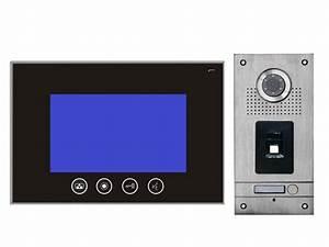 Edelstahl Video Türsprechanlage : video t rsprechanlage mit fingerprint ~ Sanjose-hotels-ca.com Haus und Dekorationen