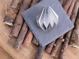 Origami Boule De Noel : faire une boule de no l en origami la maison diy ~ Farleysfitness.com Idées de Décoration