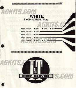 White Tractor Repair Manual