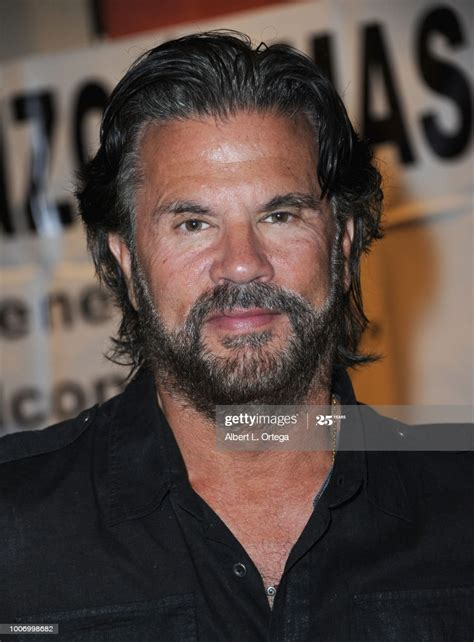 Actor Lorenzo Lamas attends The Hollywood Show held at The ...