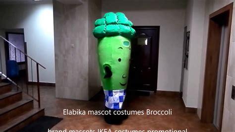 Elabika Mascot Costumes Broccoli Brand Mascots Ikea