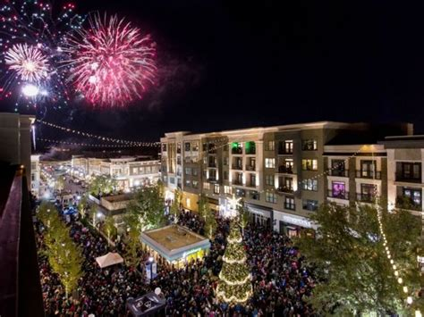avalon celebrates holidays with ice skating tree lighting
