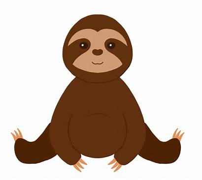 Sloth Cricut Cut Break Summer Worries Hurries