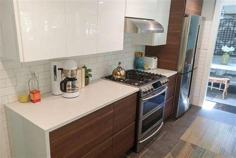 Ikea voxtorp chestnut kitchen lake house kitchen interior. Design Desires in this IKEA kitchen - Midcentury - Kitchen ...