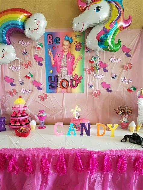 jojo siwa birthday party kid   candy store inspired