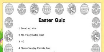 Care Home Easter Quiz  Adult Education, Nursing Home, Activities, Questions