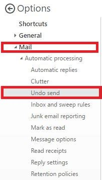 Office 365 Outlook Undo Send by How To Undo A Sent Email In Microsoft Office 365 With
